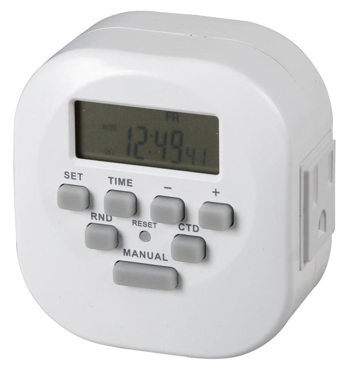 Te1606Whb Dig Outlet Timer
