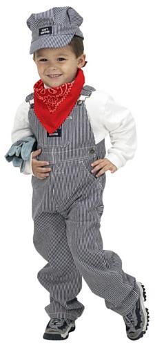 Jr. Train Engineer Suit, size 6/8