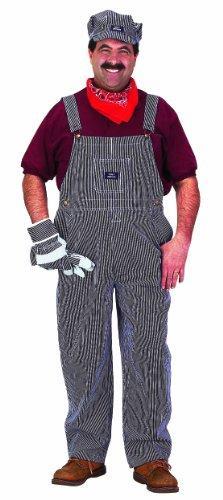 Adult Train Engineer Suit, size ADULT LG [Item # TE-ADULT-LRG]