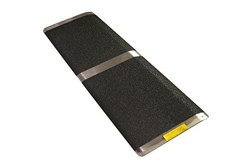16 in x 32 in Threshold Wheelchair Ramp 600 lb. Weight Capacity, Maximum 2? Rise