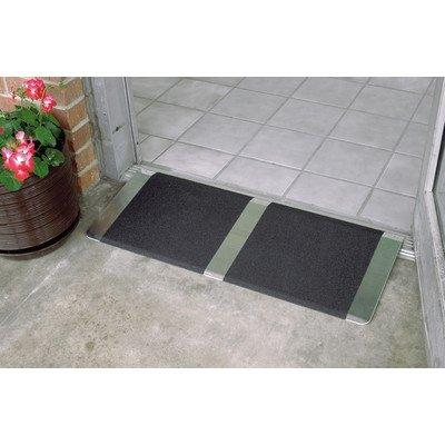 16 in x 36 in Threshold Wheelchair Ramp 600 lb. Weight Capacity, Maximum 2? Rise