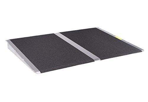 24 in x 32 in Threshold Wheelchair Ramp 600 lb. Weight Capacity, Maximum 4? Rise
