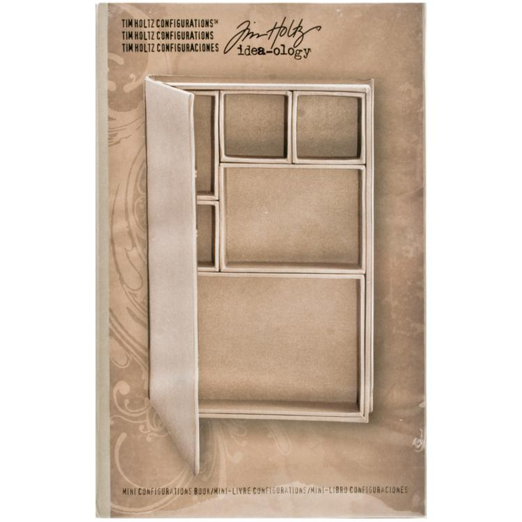 Idea-Ology Configurations Chipboard Shadow Box Book-6
