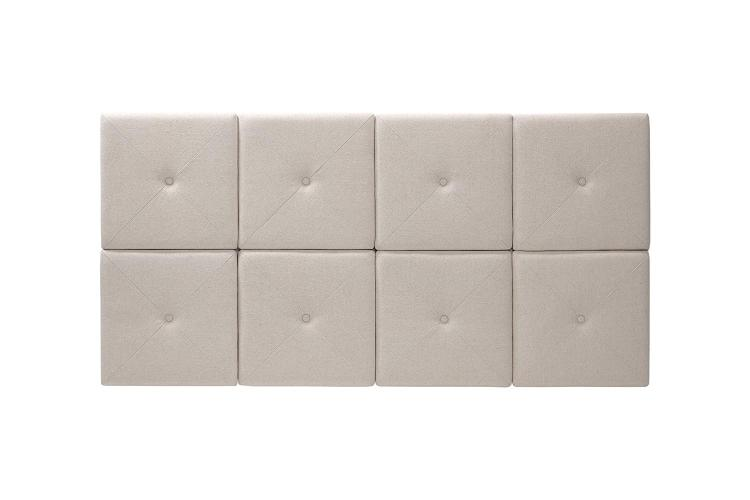 Foremost Natural Linen Headboard Tiles