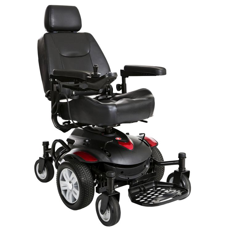 Titan AXS Mid-Wheel Power Wheelchair