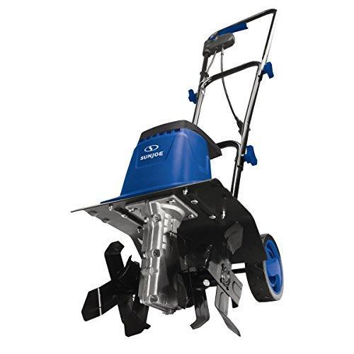 8-Amp 12-Inch Electric Tiller/Cultivator, Blue