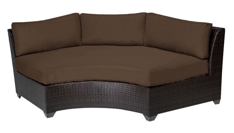 Barbados Curved Armless Sofa