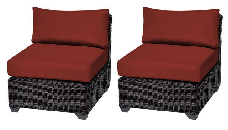 Venice Armless Sofa 2 Per Box