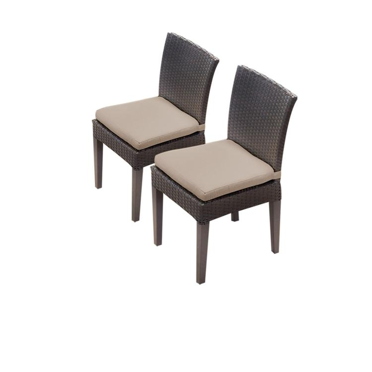 2 Napa Armless Dining Chairs