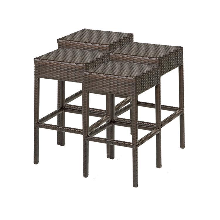 4 Napa Backless Barstools