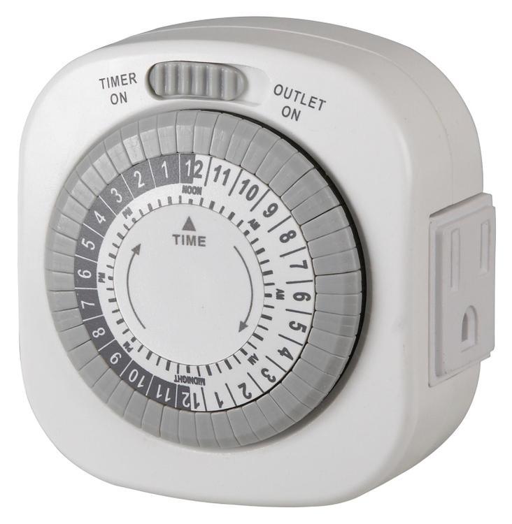 Tm1677Dhb Indoor Timer W/Light