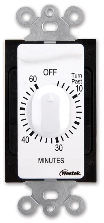 Tmsw60Mw Indr Timer 60Min Wht