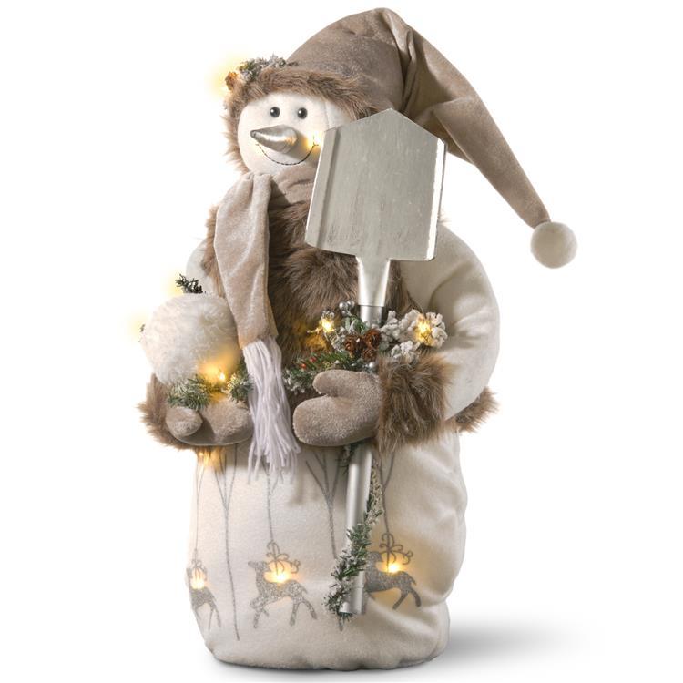 National Tree 24 inch Pre-Lit Sporty Snowman [Item # TP-F0140041]