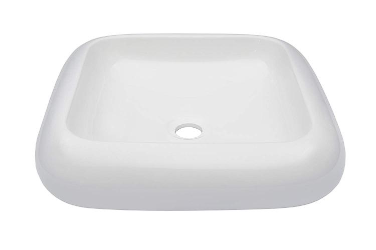 Novatto BIANCO Ceramic Vessel Bathroom Sink
