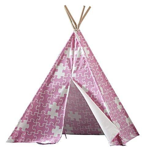 Children?s Teepee, Pink Puzzle