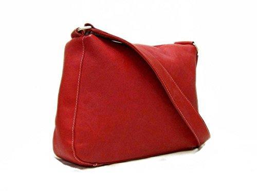 Structured Zipper Top Hand Bag