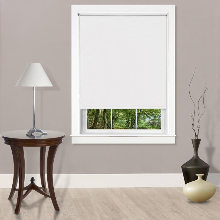 Cords Free Tear Down Room Darkening Window Shade