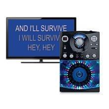THE SINGING MACHINE SML385 Sound & Light Show Karaoke System (Black)