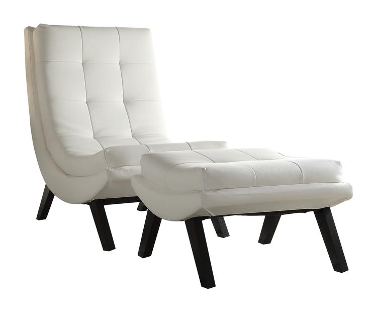 Tustin Lounge Chair And Ottoman Set
