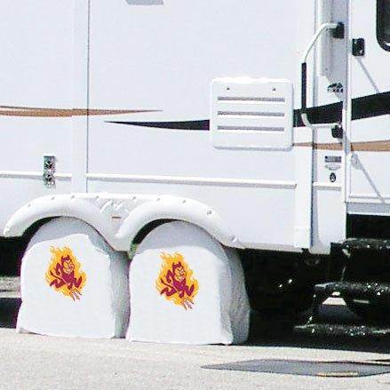 Arizona State Tire Shade with Sparky Logo