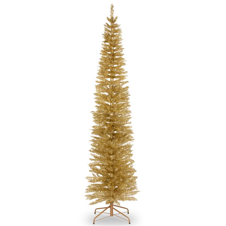 National Tree Tinsel Artificial Christmas Tree [Item # TT33-702-70]