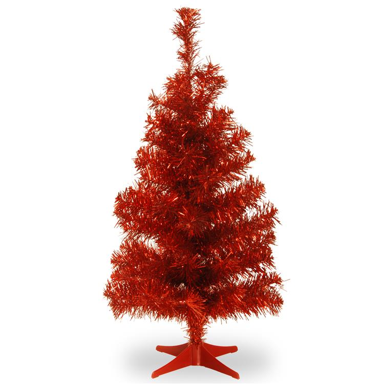 National Tree Tinsel Tree [Item # TT33-705-30-1]