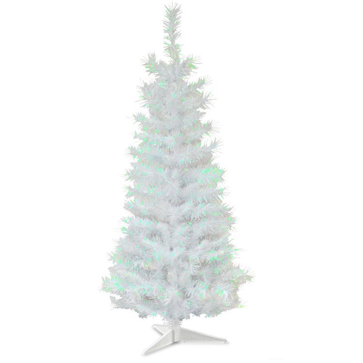 National Tree White Iridescent Tinsel Tree [Item # TT33-713-30-1]