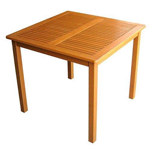 International Caravan Royal Tahiti Outdoor Wood Square Table
