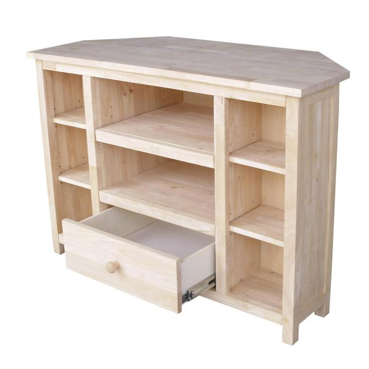 International Concepts Corner Entertainment / TV Stand