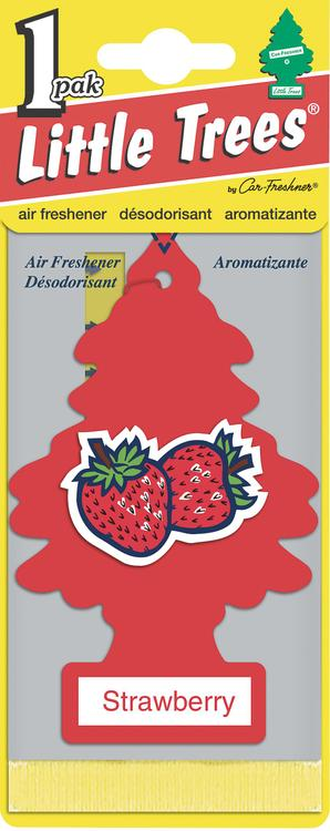 Car Freshner U1P-10312 Strawberry Little Tree® Air Fresheners