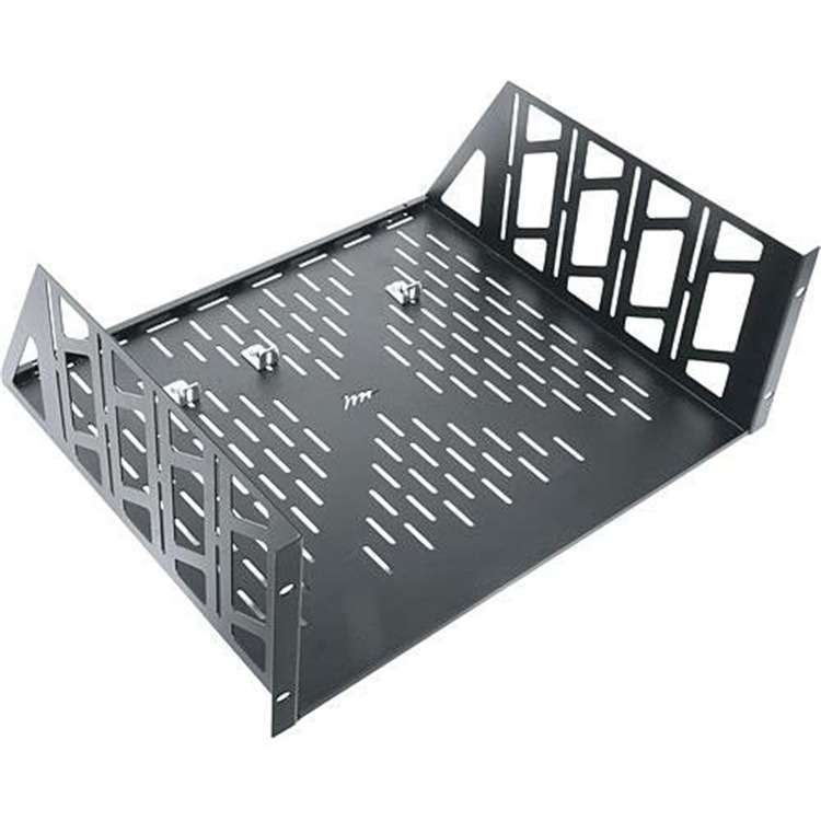 4 RU Vented Rack Shelf