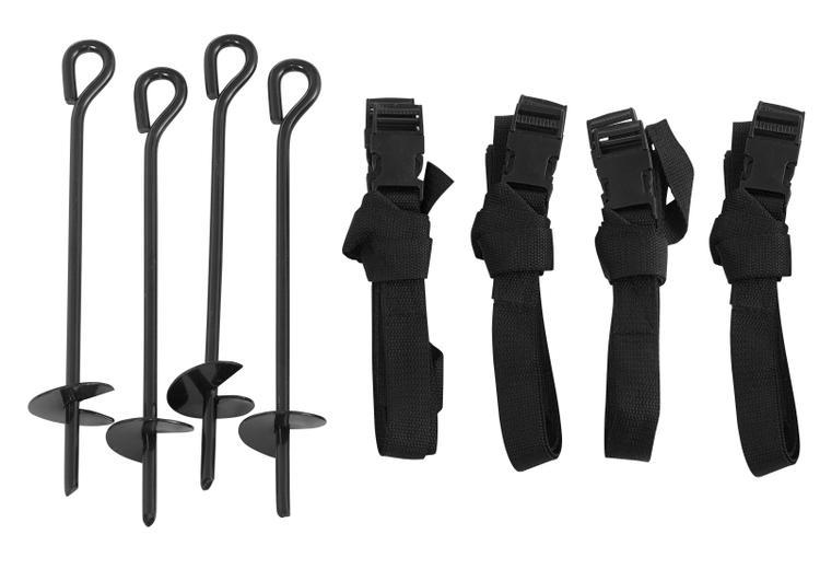 Upper Bounce® Trampoline Anchor Kit (Set of 4)