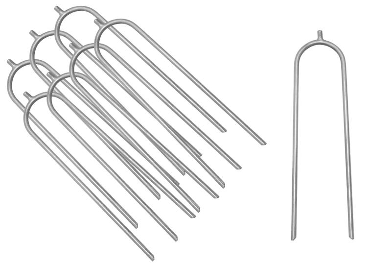Upper Bounce® Trampoline Wind Guard anchors - Set of 8