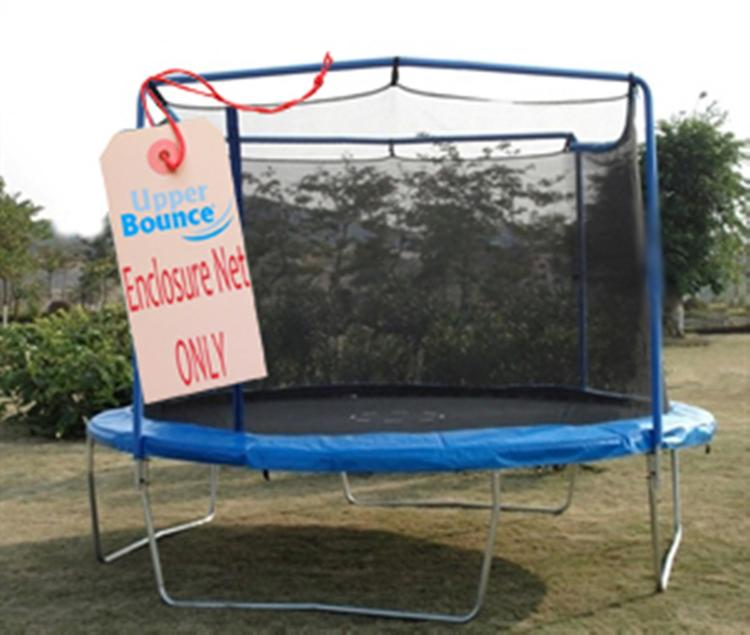Trampoline Replacement Net, Fits Trampoline Model # TR-1564U-COMBO, Or 13 FT. Round Frames, Using 2 Arches With Straps -NET ONLY