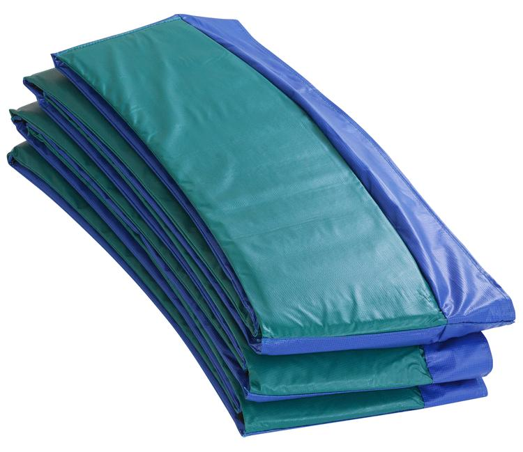 Super Trampoline Replacement Safety Pad (Spring Cover) Fits for 14 FT. Round Frames - Blue/Green