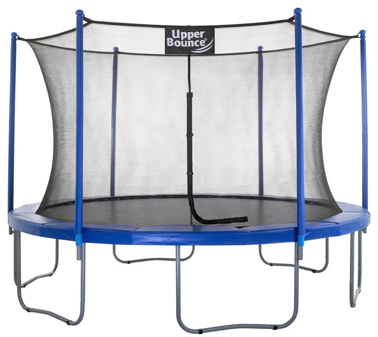 Upper Bounce® 12 FT. Trampoline & Enclosure Set equipped with the New