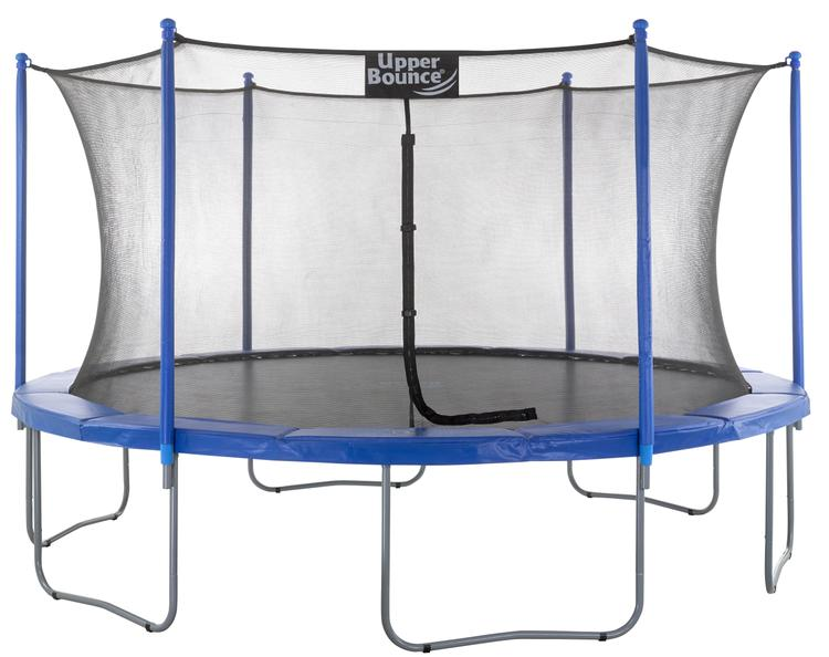 Upper Bounce® 14 FT. Trampoline & Enclosure Set equipped with the New