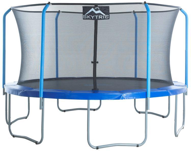 Skytrek 15' Trampoline with Top Ring Enclosure
