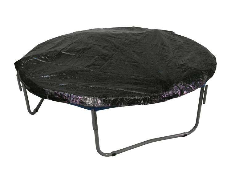 Economy Trampoline Weather Protection Cover, Fits for 12 FT. Round Frames - Black