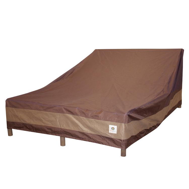 Duck Covers Ultimate 82 in. L Double Wide Chaise Lounge Cover