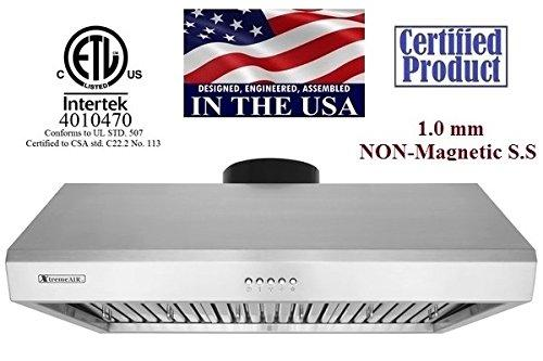 XtremeAir Ultra Non-Magnetic Under Cabinet Hood