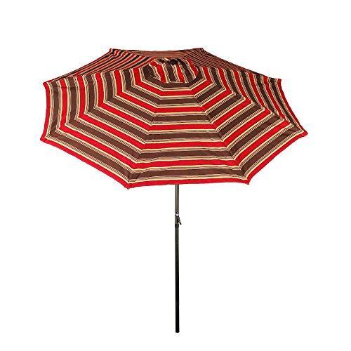 Market Crank and Tilt Umbrella with Aluminum Frame