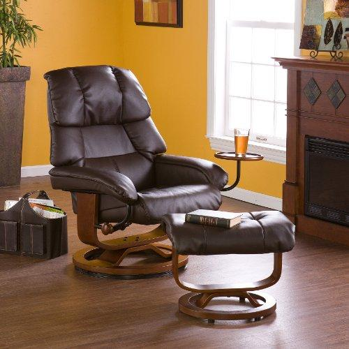 Southern Enterprises Recliner And Ottoman