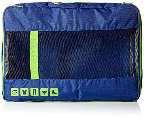 U.S. Traveler Alamosa 3-Piece Packing Cube Set, Royal Blue
