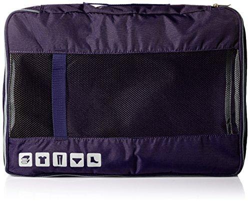U.S. Traveler Alamosa 3-Piece Packing Cube Set, Purple