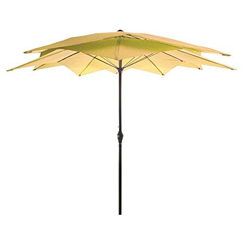8.5FT Lotus Umbrella in Canary