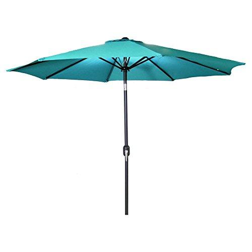 9 FT Steel Market Umbrella in Aruba