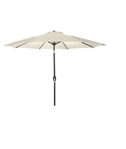 9 FT Steel Market Umbrella in Natural