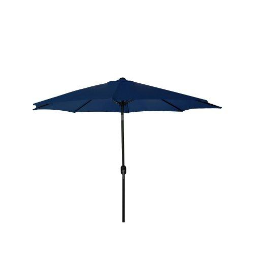 9 FT Steel Market Umbrella in Navy