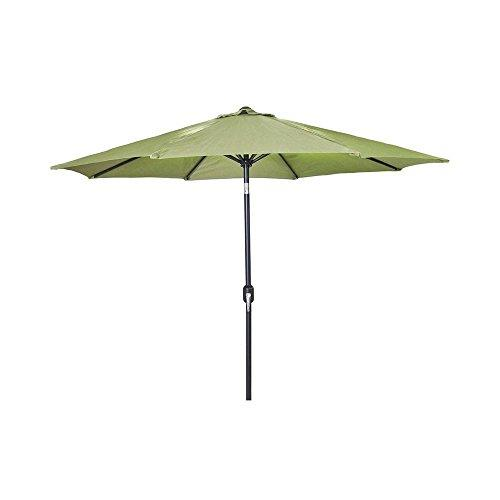 9 FT Steel Market Umbrella in Olive
